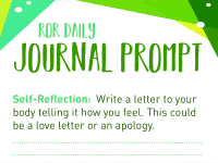 journal prompt my bogy
