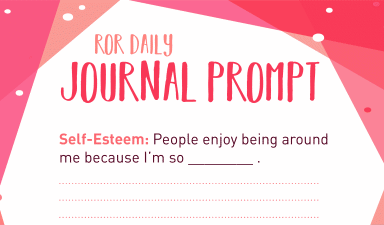 Self-Esteem Journal Prompt: I'm Enjoy-able
