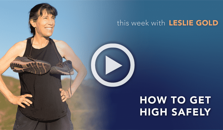 Coach's Corner: How to Get A Healthy High