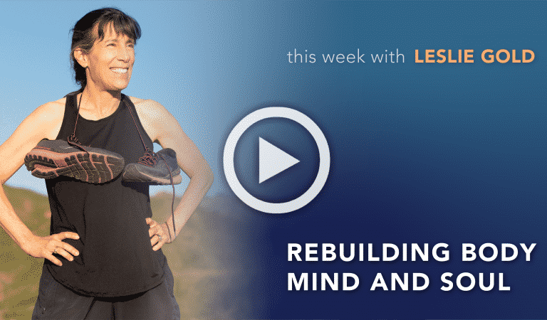 Coach's Corner: Rebuilding Body Mind and Soul