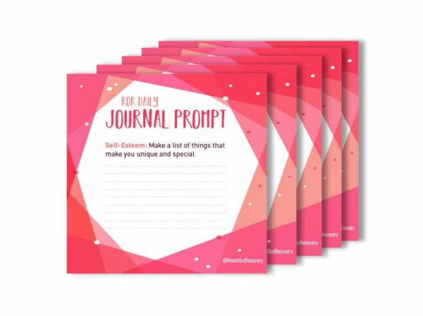 make a list anxiety journal prompt