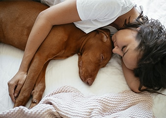 Surprising Benefits Of Sleeping With Pets