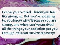 survive recovery