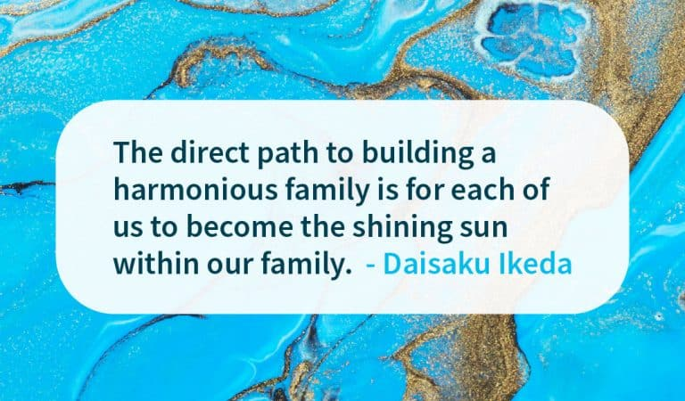 Family Quote: Building A Harmonious Family