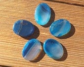 Blue onyx Worry Stone