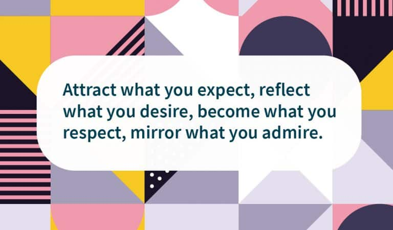 Recovery Quote: Attract what you expect