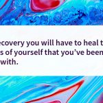 Sober quote Heal yourself