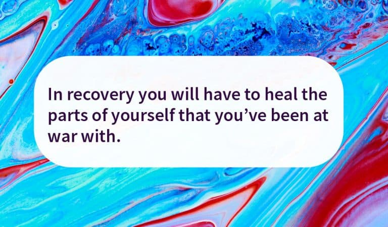 Sobriety Quote: Heal yourself
