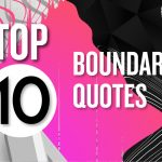 Boundary quotes