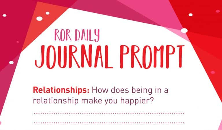 Relationship Journal Prompt: Happiness