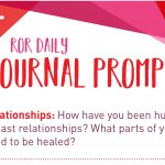 Journal Promp relationship