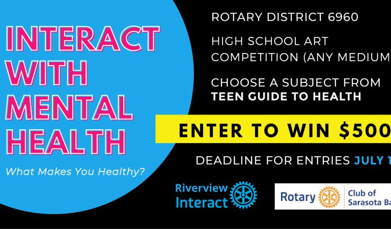 Rotary Healthy Teens Art/Media Competition