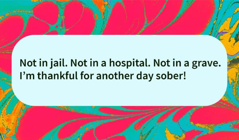Sober Quote: Thankful For Another Day