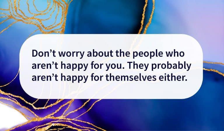 Quote: Don't Worry About Them