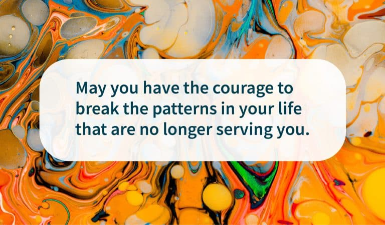 Recovery Quote: Break Patterns